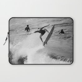 Surfer Launches Off Wave Laptop Sleeve