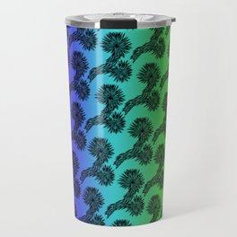 Joshua Tree Matrix by CREYES Travel Mug