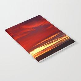 Devil sky Above Notebook