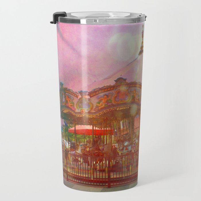 Merry Go Round Travel Mug