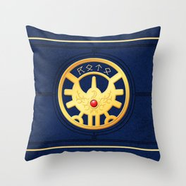 Erdrick's Seal (Horizontal) Throw Pillow