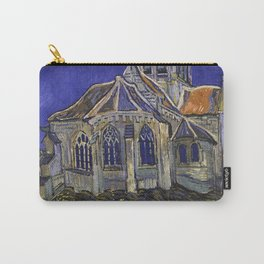 The Church at Auvers by Vincent van Gogh Carry-All Pouch