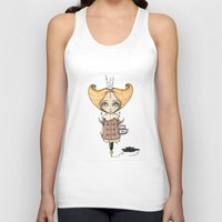 crown Tank Tops featuring Crown by About Time Mr Wolfe