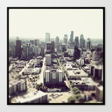 downtown seattle Canvas Print