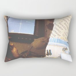 On the 80s Radar Bond Rectangular Pillow