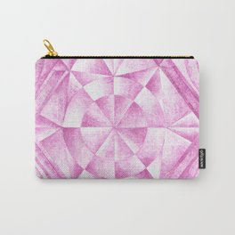 Cobalt Violet Pattern Carry-All Pouch