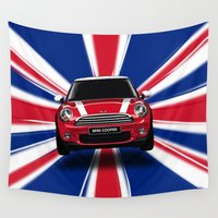 uk Wall Tapestries featuring UK Cooper by McGrathDesigns