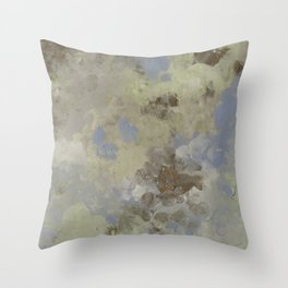 Troubled Sky Throw Pillow