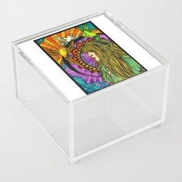 Three Birds of Rhiannon Acrylic Box