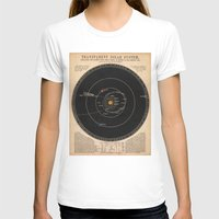 solar system T-shirts featuring Solar System by Le petit Archiviste