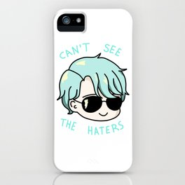 V mystic messenger can't see the haters iPhone Case