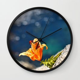Beauty by the Waters Wall Clock