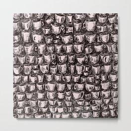 Coffee Mugs Metal Print