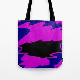 Trisha Blue Water Justified By Patricia A. Lopez Tote Bag