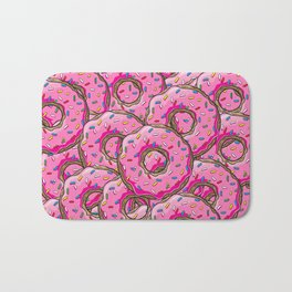 You can't buy happiness, but you can buy many donuts! Bath Mat