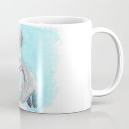 Baby Hippo Underwater Fantasia Ballet Coffee Mug