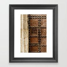 Cathedral Door Framed Art Print