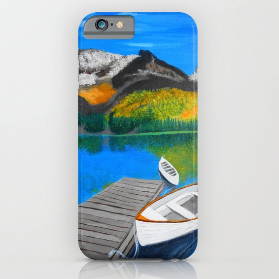 Summer day on the lake  iPhone & iPod Case
