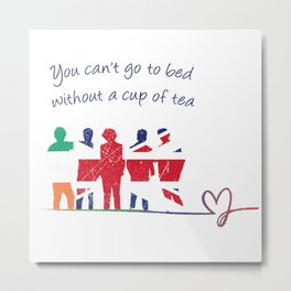 One Direction - Cup of Tea Metal Print