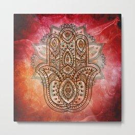 Hand of Fatima Metal Print