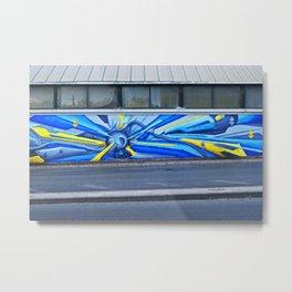 Road lines Metal Print