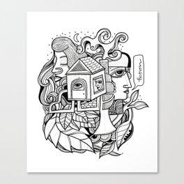 Fiction Canvas Print