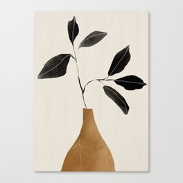 minimal plant 6 Canvas Print