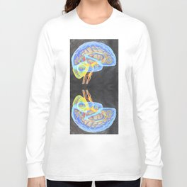 the brain Long Sleeve T-shirt