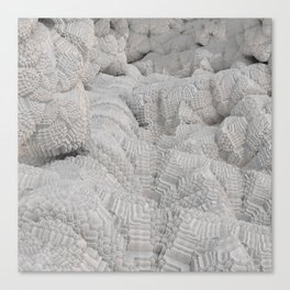 Pixel Snow Canvas Print