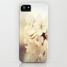 White Poppy Grudge iPhone Case