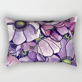 Purple petals Rectangular Pillow