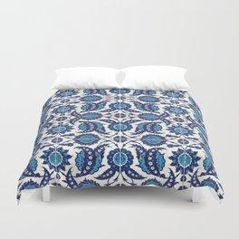 Iznik Pattern Blue and White Duvet Cover