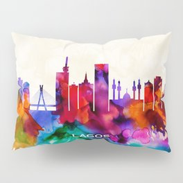 Lagos Skyline Pillow Sham