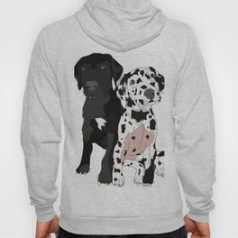 Great Dane Puppy Dogs: Olive & Oden Hoody