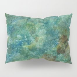 Speckled Colorful Watercolor Abstract Pillow Sham