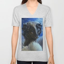 Mary Smelly Unisex V-Neck