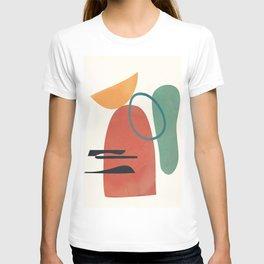 Minimal Abstract Shapes No.41 T-shirt