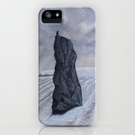 Frozen Field Megalith iPhone Case