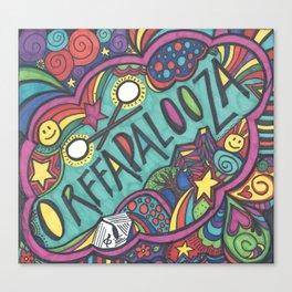 Orffapalooza Canvas Print