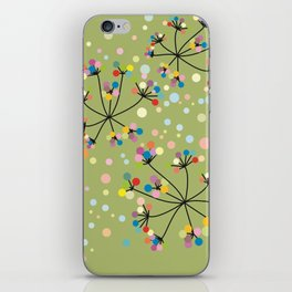 flower / green / color / nature iPhone Skin
