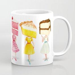 Cake Head Pin-Ups Coffee Mug