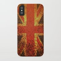 england iPhone & iPod Cases featuring england flag by smartphone_cases