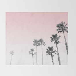 Tranquillity - pink sky Throw Blanket