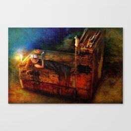 Ex Libris Canvas Print