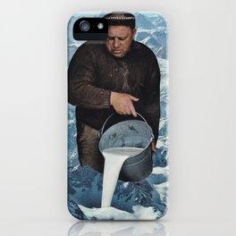 Milky Mountain iPhone Case