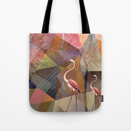 FLAMINGOS P23-C Tote Bag