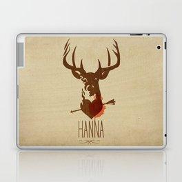 HANNA film tribute poster Laptop & iPad Skin