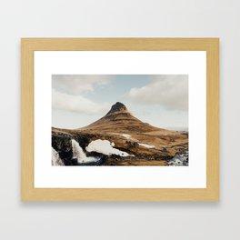 grandeur / grundarfjörður, iceland Framed Art Print
