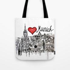 I love Munich Tote Bag