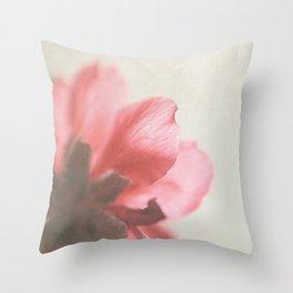 Vintage cherry blossom Throw Pillow
